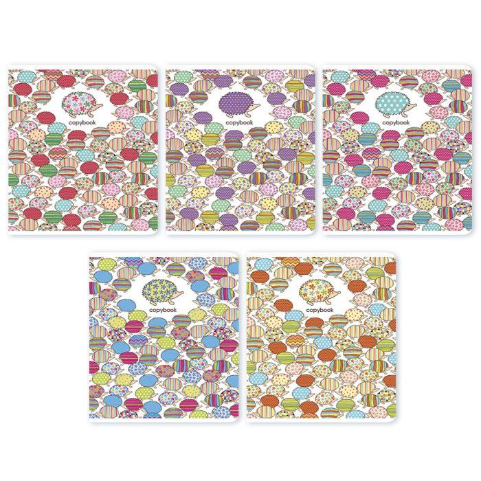Тетрадь Феникс+ Цветные ежики, 46962, 48 листов тетрадь феникс цветные собачки 46966 48 листов
