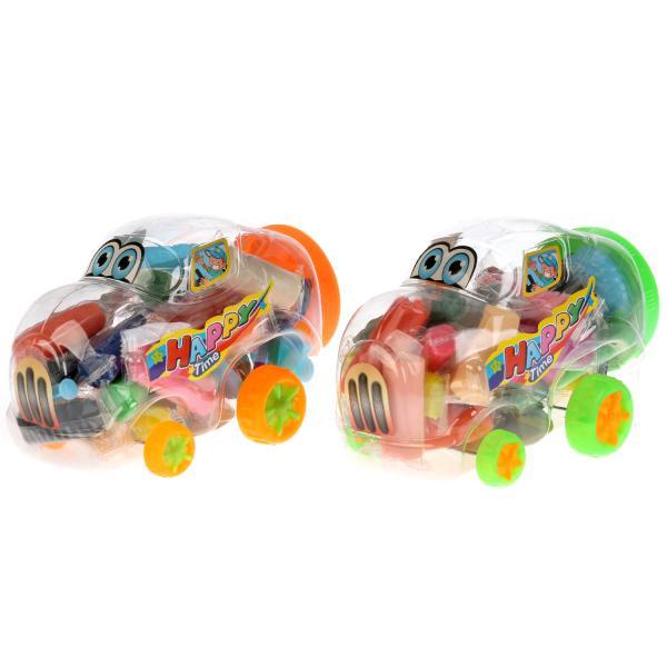 Набор тесто для лепки MultiArt Машинка, 255903, 20 цветов набор тесто для лепки multiart маша и медведь 4 цв х 50 гр аксесс в рюкзаке в кор 2 12шт