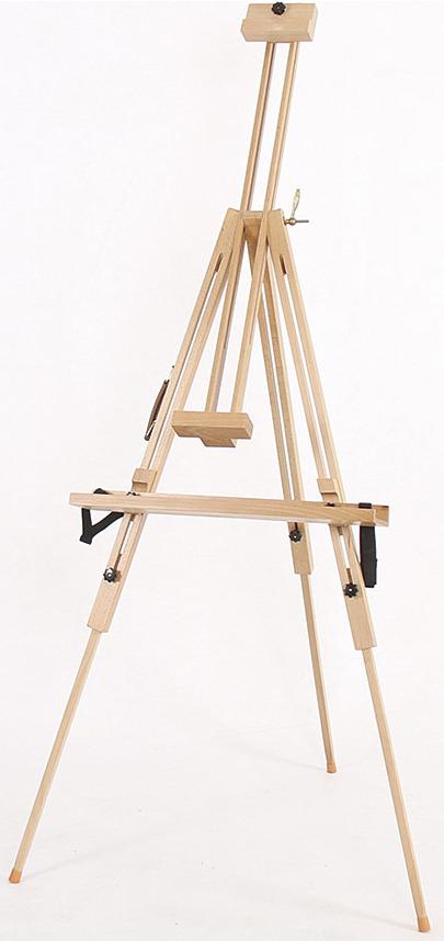 Тренога-мольберт Vista-Artista, VEB-05, с полкой, 130 х 80 см