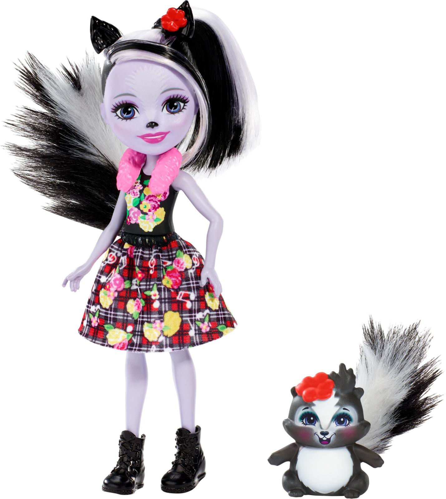 Набор игровой с куклой Enchantimals Sage Skunk, DVH87_FXM72 enchantimals игровой набор с куклой sage scunk