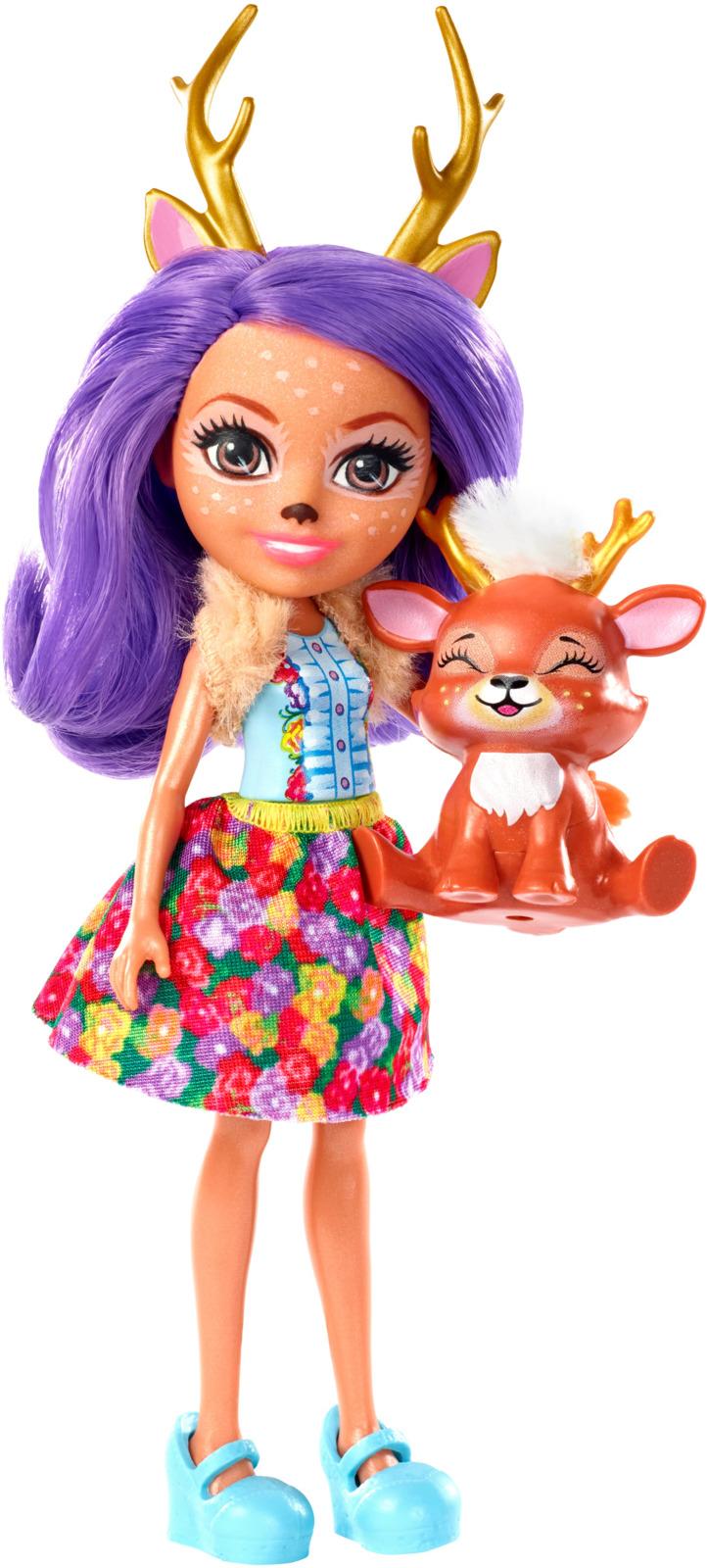 Набор игровой с куклой Enchantimals Danessa Deer, DVH87_FXM75 enchantimals игровой набор с куклой sage scunk