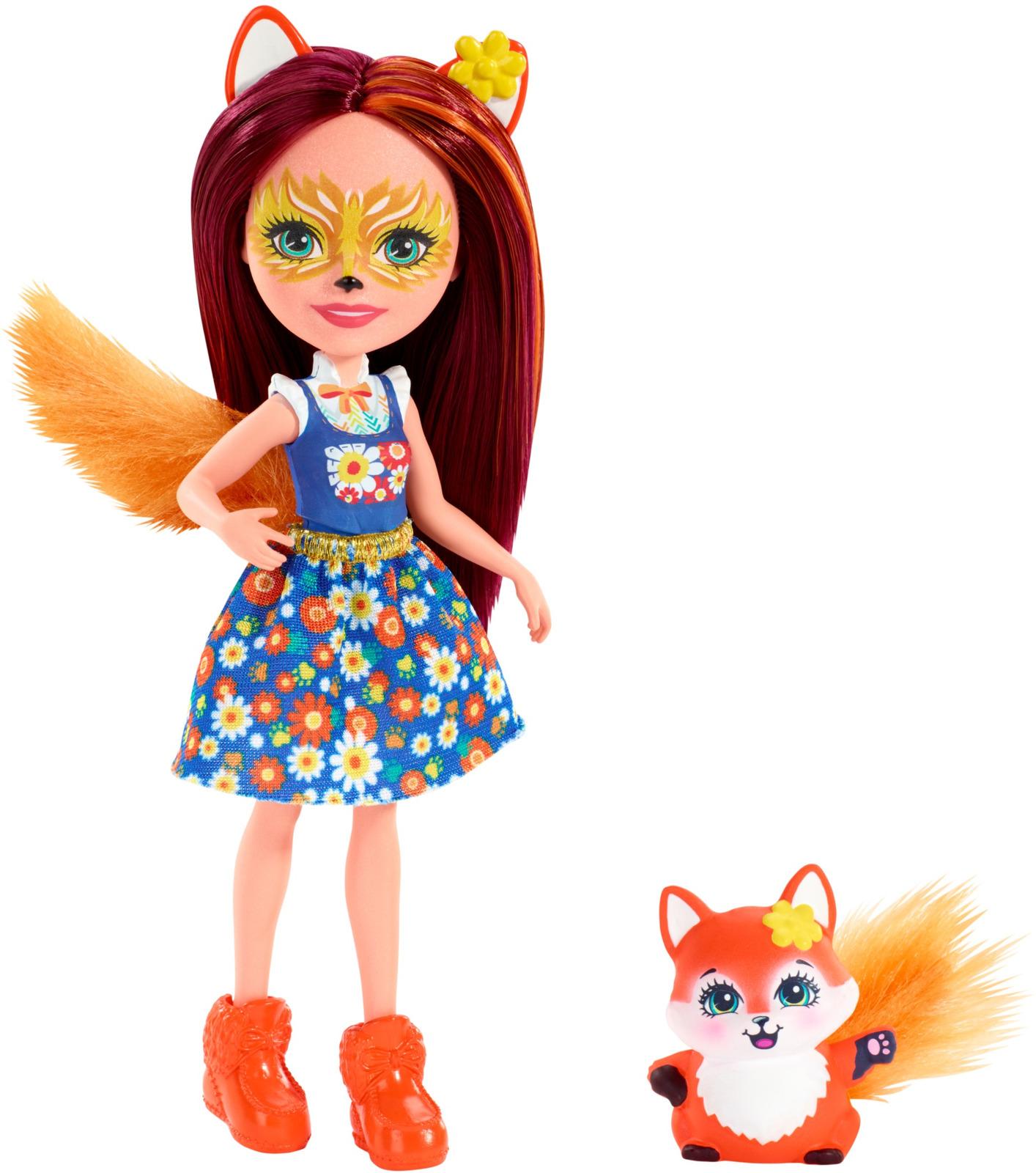 Фото - Игровой набор с куклой Enchantimals Felicity Fox, DVH87_FXM71, оранжевый, 15 см enchantimals игровой набор кукла со зверюшкой fnh22 fjj21
