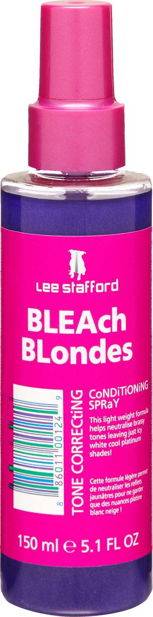 Спрей для волос Lee Stafford Bleach Blondes, коррекции тона, 150 мл