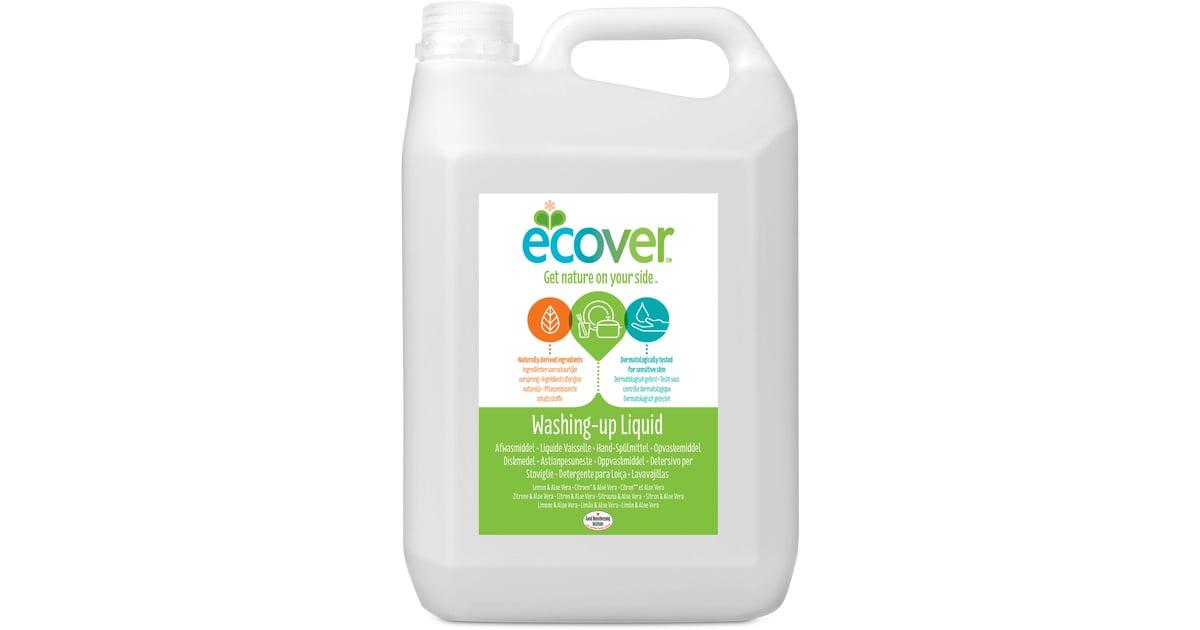 купить Экологическая жидкость Ecover для мытья посуды с лимоном и алоэ-вера, 5 л по цене 2411 рублей