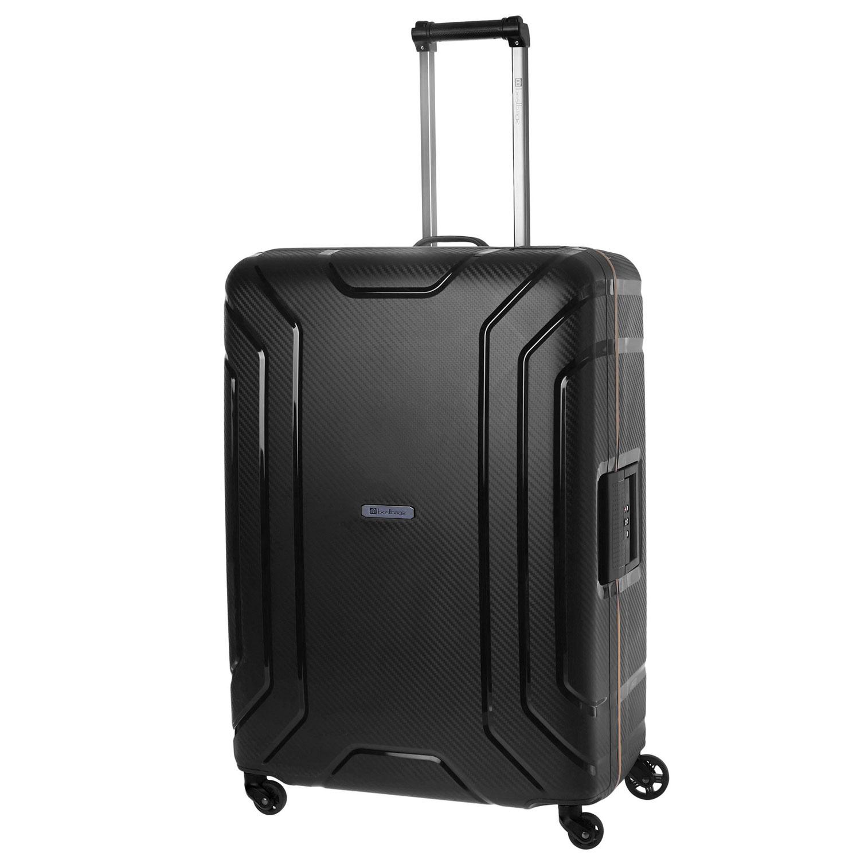 Чемодан Best Bags Stefano, черный чемодан средний m best bags il mondo 1333 60 б 13330460