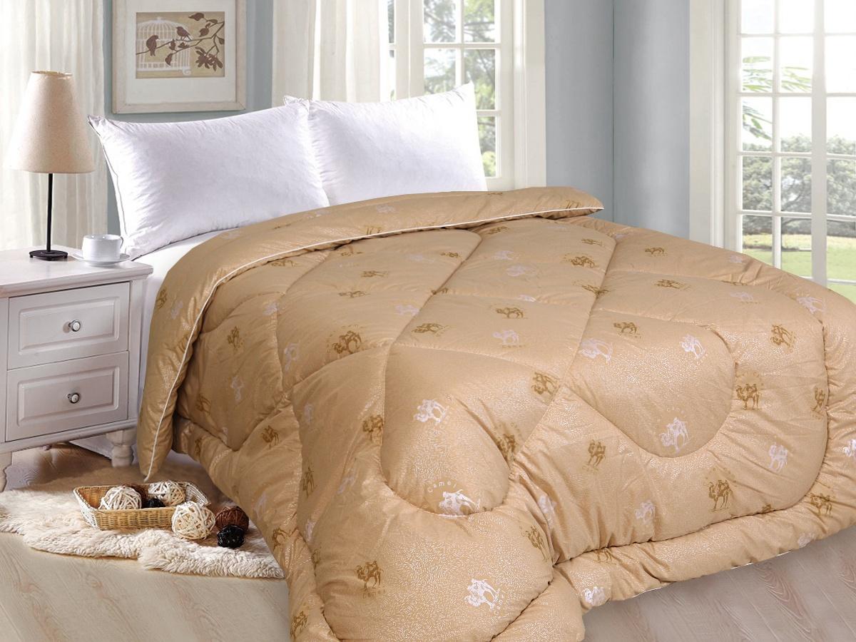 Одеяло Спаленка Верблюд Люкс 2,0 - спальное, О-ВерблюдЛюкс-2.0/коричневый