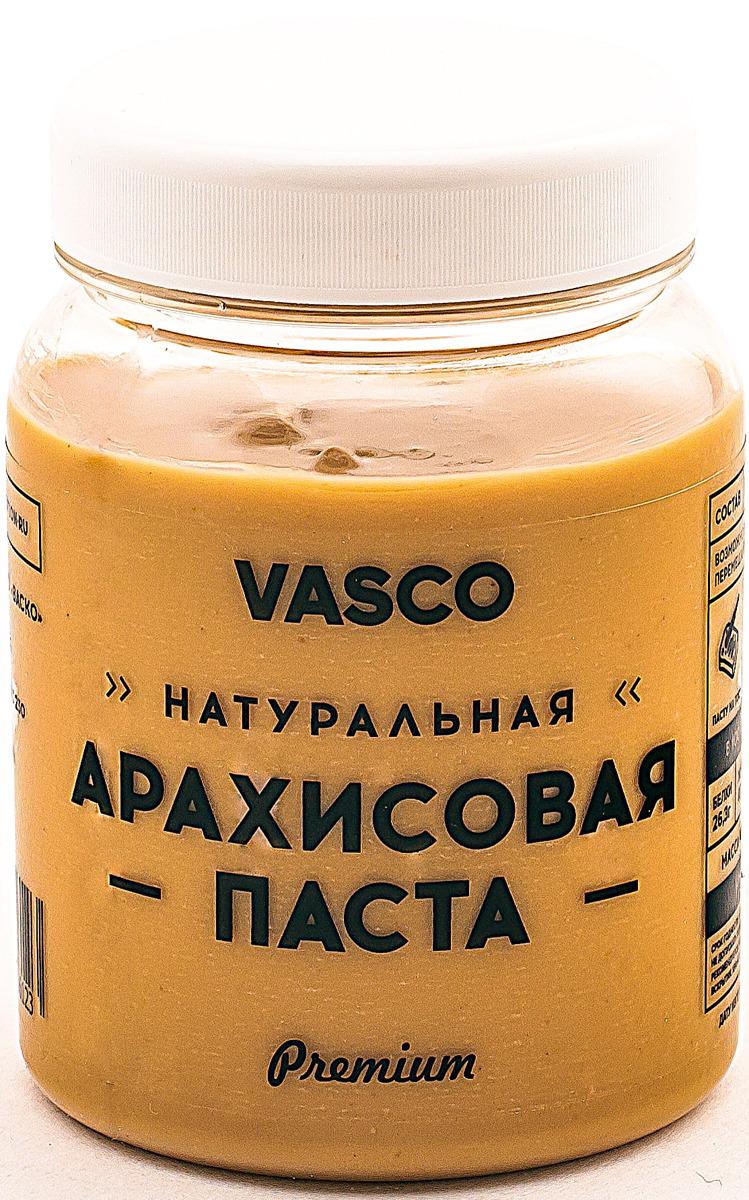 Паста арахисовая Vasco, натуральная, 320 г