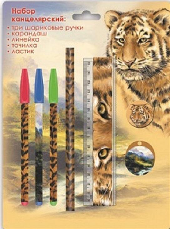 """Канцелярский набор Феникс+ """"Тигр"""", 38027/24"""