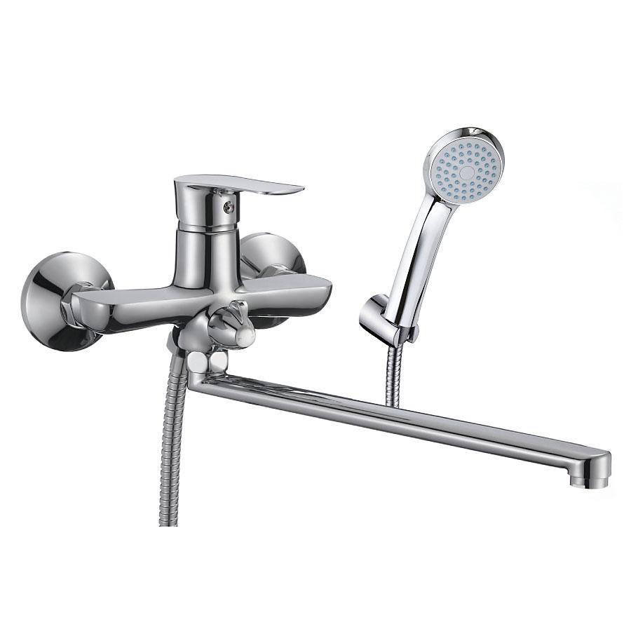 Смеситель OSGARD для ванны с длинным изливом для ванны sensea с длинным изливом с душем однорычажный