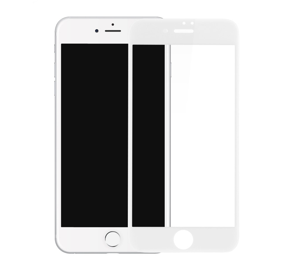 Защитное стекло Devia Anti-Glare Tempered Glass Full Screen 0.26мм для iPhone 7/8, белый for lenovo zuk z2 lcd screen display with touch screen digitizer panel glass assembly black white replacement parts free shipping