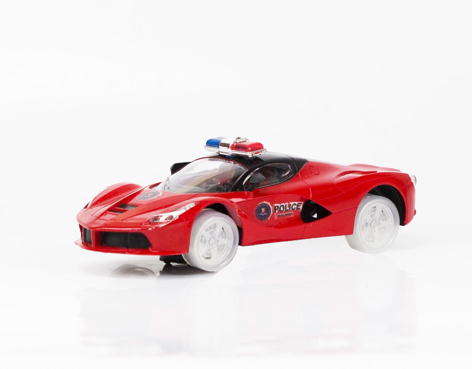 Машина на батарейках JT Toys, 555В-6, красный