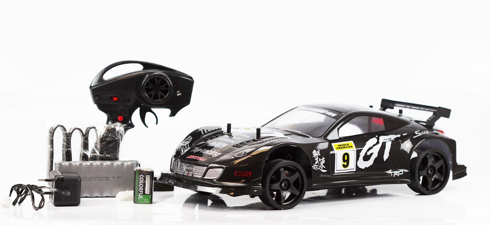 Машинка на радиоуправлении JT Toys 383, черный