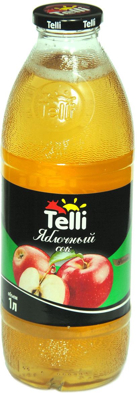 Сок Telli яблочный, 1 л