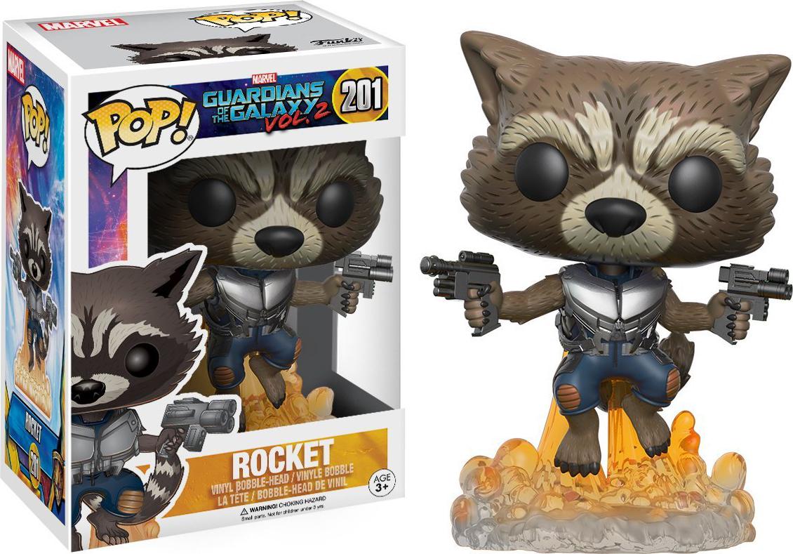 все цены на Фигурка Funko POP! Bobble: Marvel: Guardians O/T Galaxy 2: Rocket 13270 онлайн
