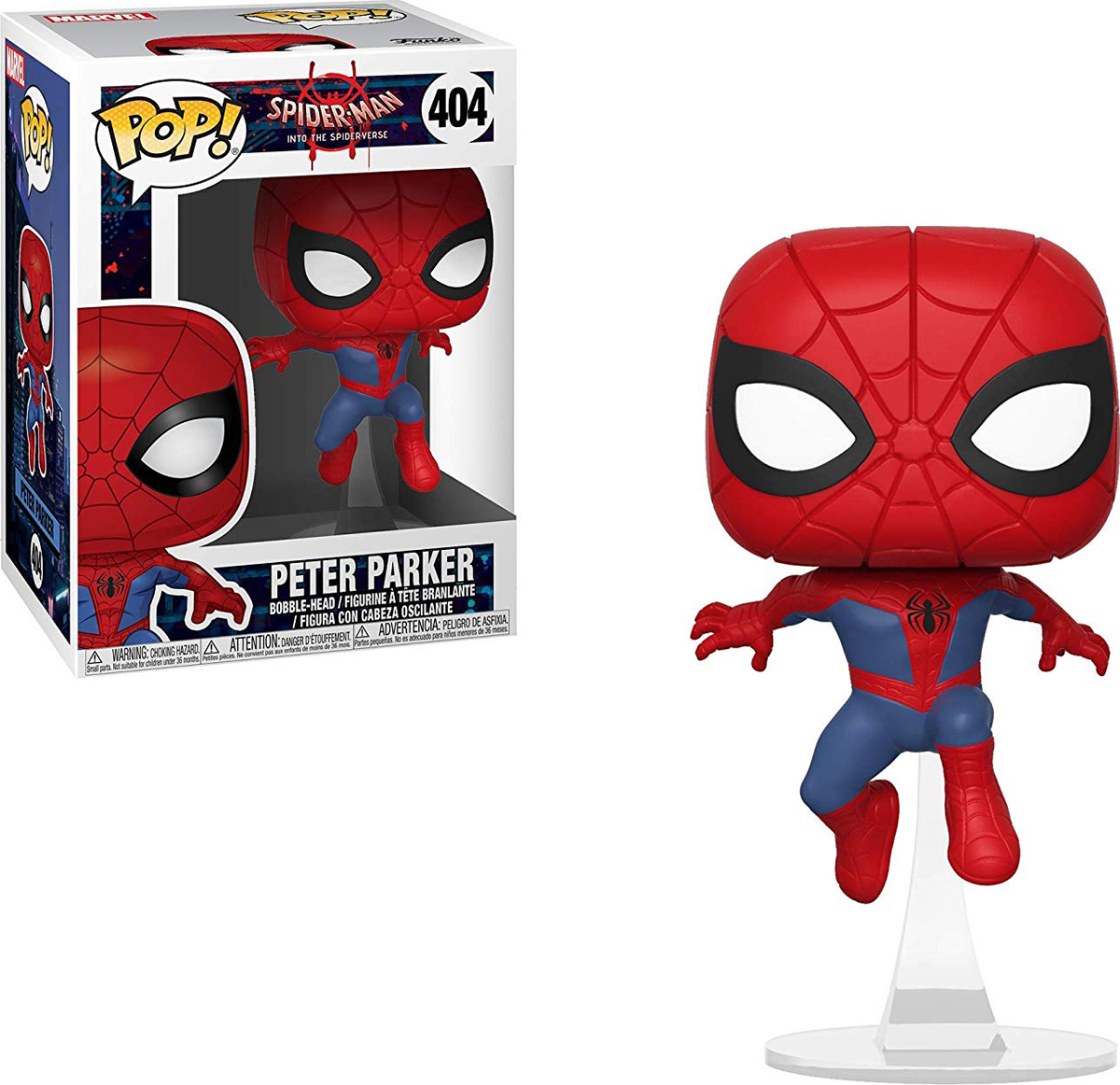 Фигурка Funko POP! Bobble: Marvel: Animated Spider-Man: Spider-Man 34755 цена 2017
