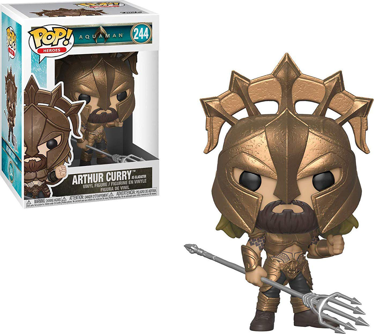 все цены на Фигурка Funko POP! Vinyl: Aquaman: Arthur Curry as Gladiator POP 2 31176 онлайн