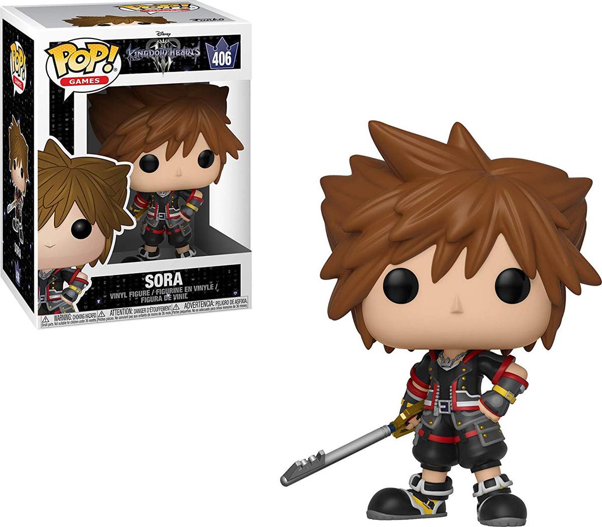 Фигурка Funko POP! Vinyl: Games: Kingdom Hearts 3: Sora 34052 фигурка funko pop vinyl games kingdom hearts 3 sora monster s inc 34057