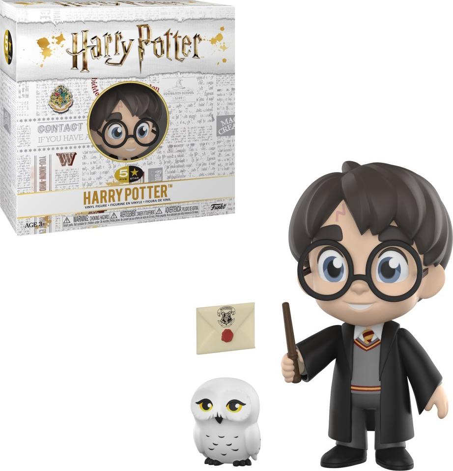Фигурка Funko Vinyl Figure: 5 Star: Harry Potter: Harry Potter 30449 official funko pop harry potter hogwarts express carriage with harry potter vinyl figure collectible model toy with original box