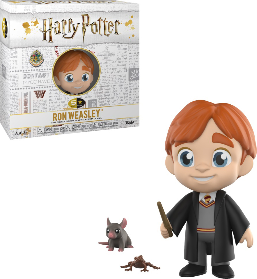 Фигурка Funko Vinyl Figure: 5 Star: Harry Potter: Ron Weasley 30450 official funko pop harry potter hogwarts express carriage with harry potter vinyl figure collectible model toy with original box
