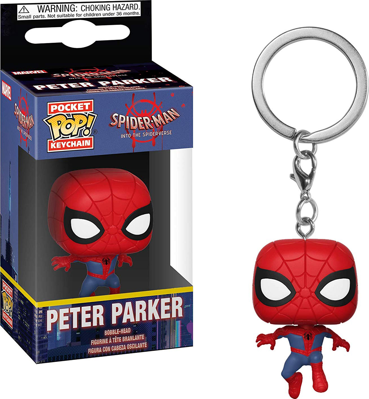 Брелок Funko Pocket POP! Keychain: Animated Spider-Man: Spider-Man 34446-PDQ spider man фигурка electro
