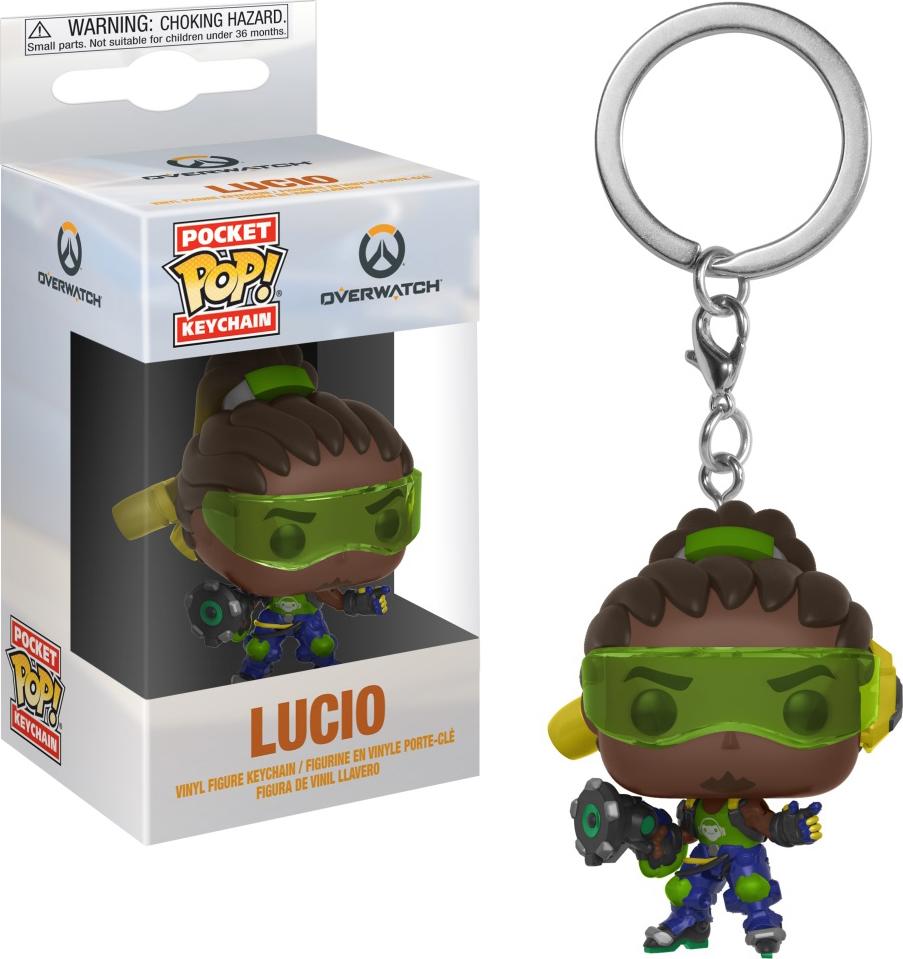 Брелок Funko Pocket POP! Keychain: Overwatch: Lucio 32796-PDQ брелок funko pocket pop keychain marvel spider man far from home mysterio 39363 pdq