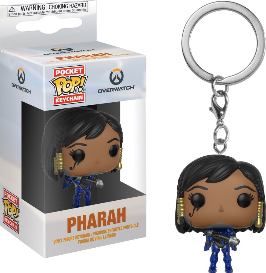 Брелок Funko Pocket POP! Keychain: Overwatch: Pharah 32791-PDQ