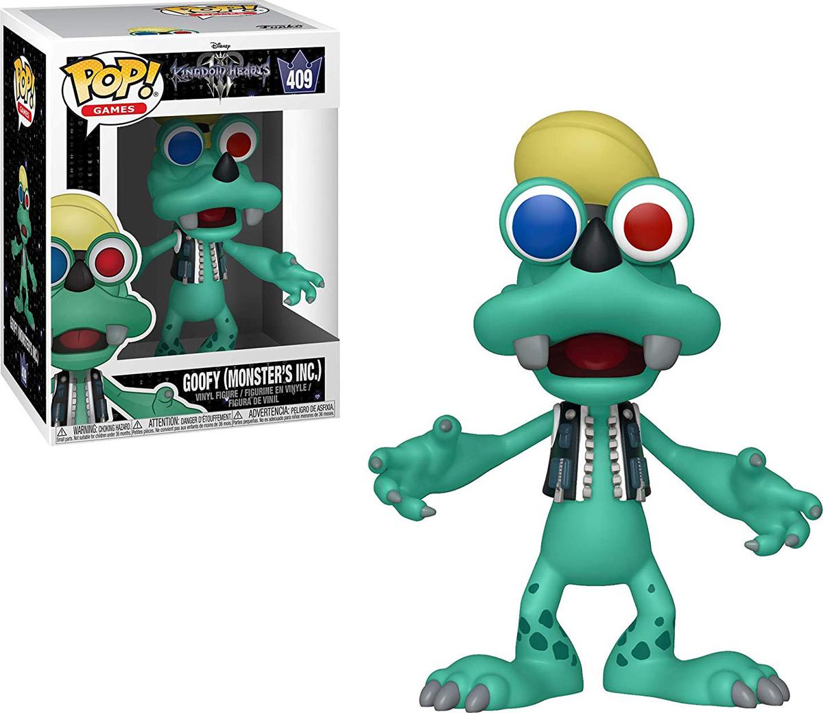 Фигурка Funko POP! Vinyl: Games: Kingdom Hearts 3: Goofy (Monsters Inc.) 34058 фигурка funko pop vinyl games kingdom hearts 3 sora monster s inc 34057