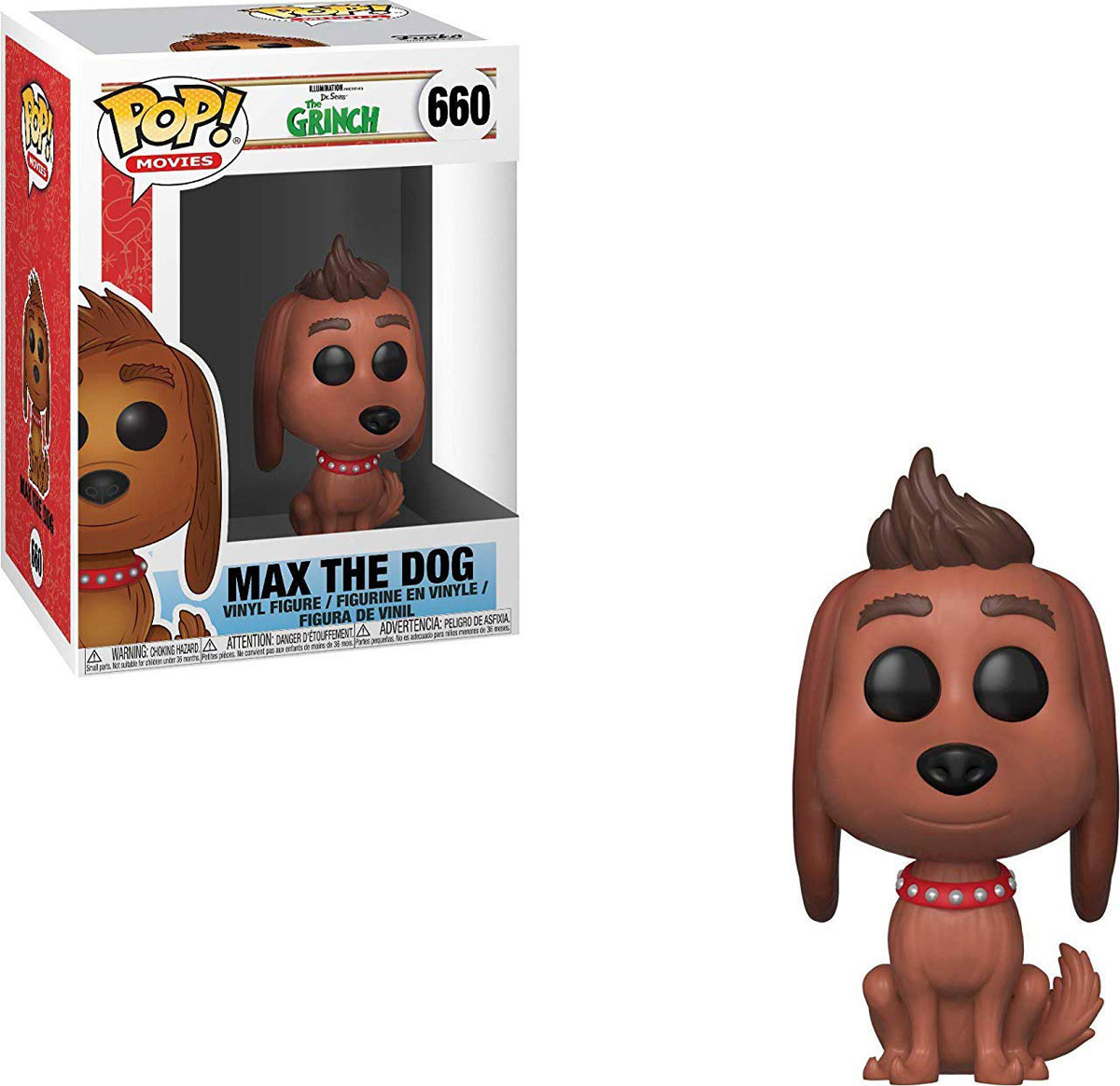 Фигурка Funko POP! Vinyl: The Grinch Movie: Max the dog 33027