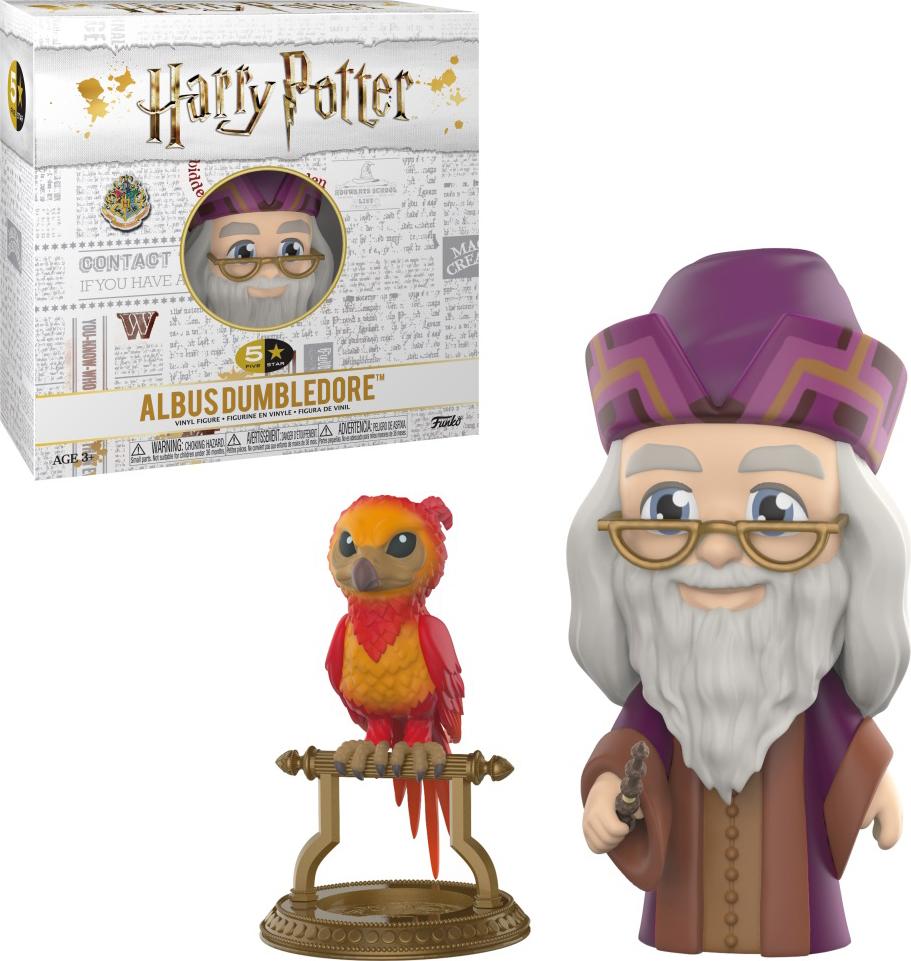 Фигурка Funko Vinyl Figure: 5 Star: Harry Potter: Albus Dumbledore 30454 official funko pop harry potter hogwarts express carriage with harry potter vinyl figure collectible model toy with original box