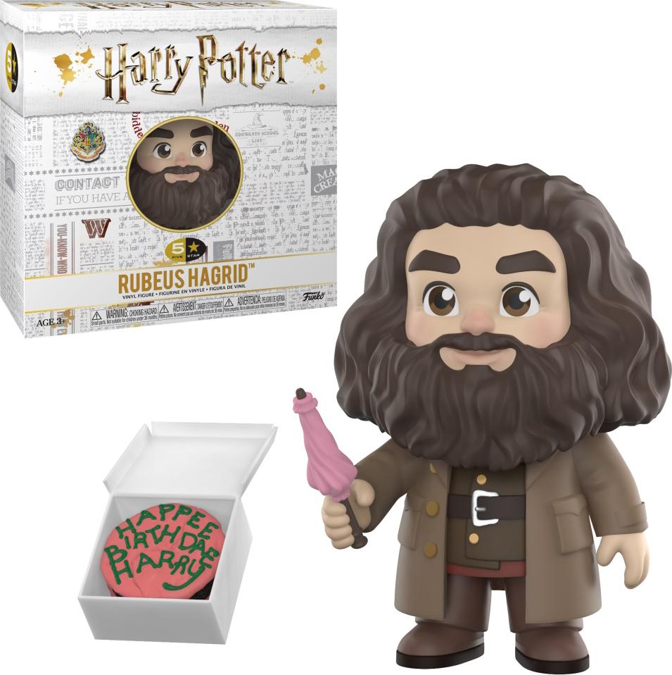 Фигурка Funko Vinyl Figure: 5 Star: Harry Potter: Rubeus Hagrid 30452 official funko pop harry potter hogwarts express carriage with harry potter vinyl figure collectible model toy with original box