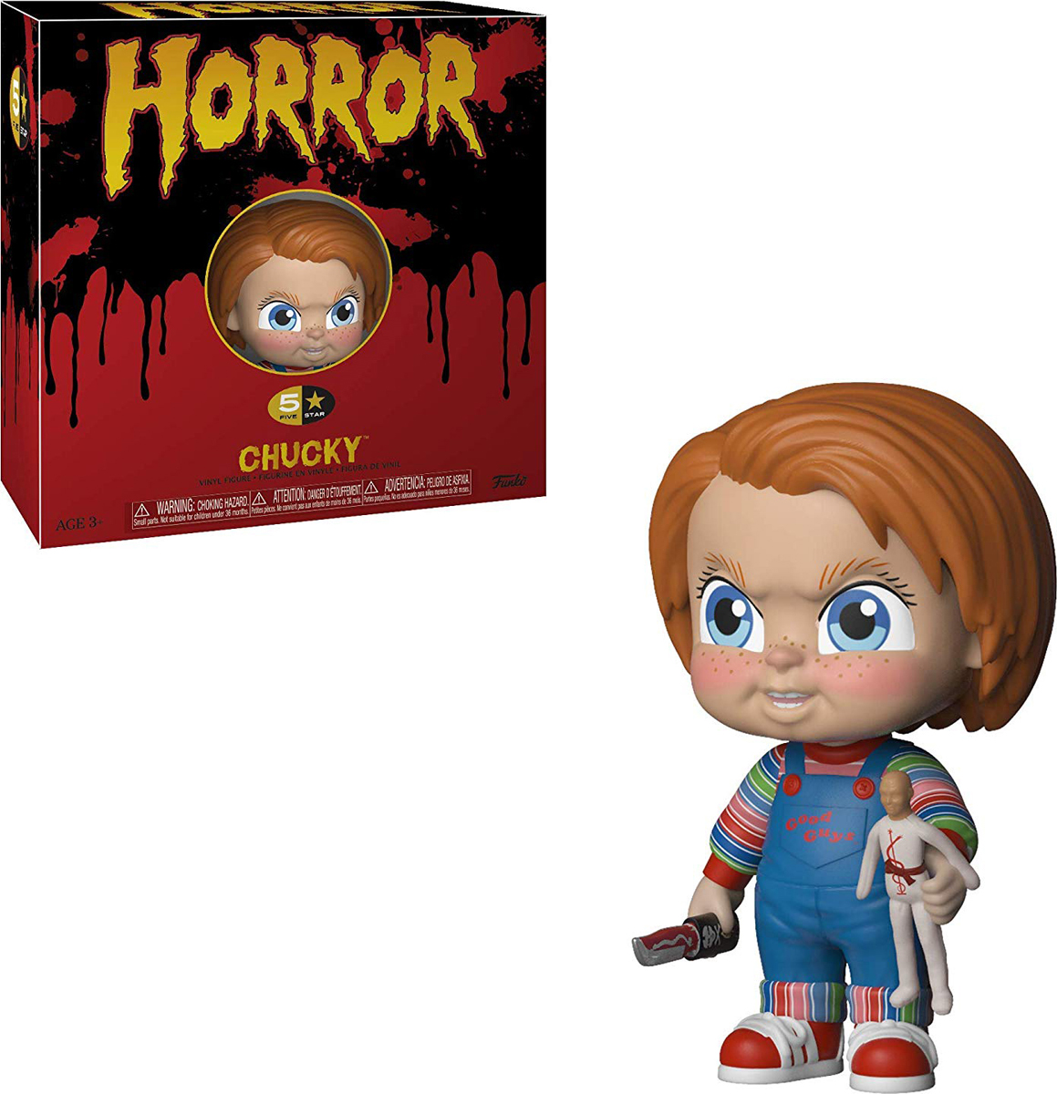 Фигурка Funko Vinyl Figure: 5 Star: Horror: Chucky 34011 фигурка funko pop vinyl horror gremlins 2 drag gremlin 32348