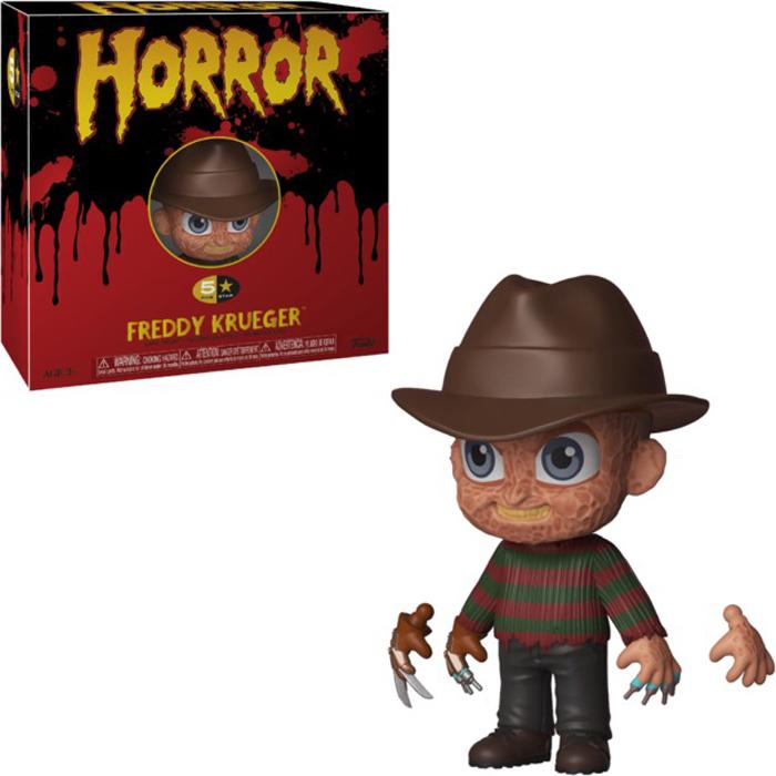 Фигурка Funko Vinyl Figure: 5 Star: Horror: Freddy Krueger 34010 фигурка funko pop vinyl horror gremlins 2 drag gremlin 32348