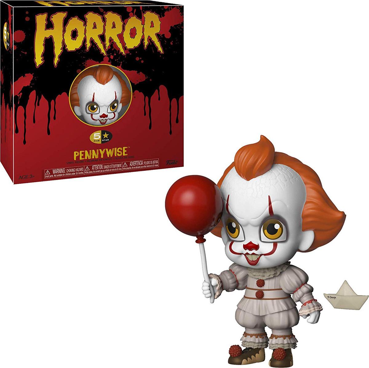 Фигурка Funko Vinyl Figure: 5 Star: Horror: Pennywise 34009 фигурка funko pop vinyl horror gremlins 2 drag gremlin 32348