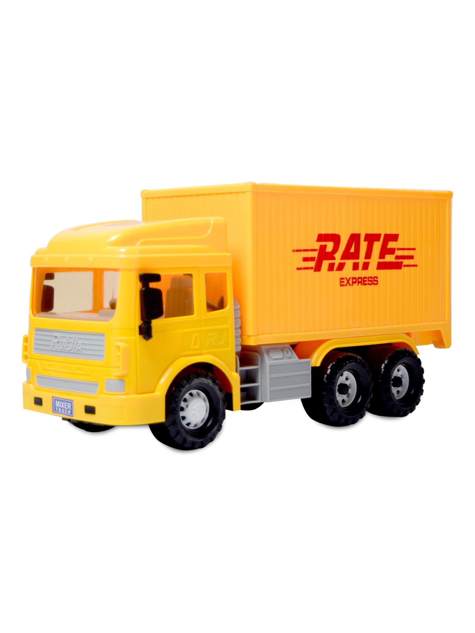 Грузовик JT TOYS, RJ6681, инерционный грузовик dave инерционный