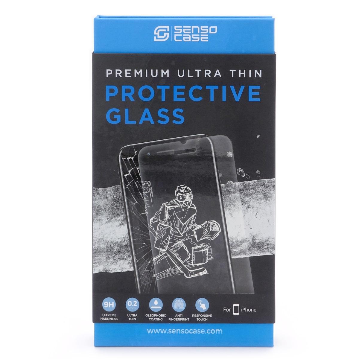 Защитное стекло SensoCase для iPhone 8 Plus Protective Glass 0.2 mm 2,5D 9H+, ультратонкое, кристально прозрачное, PG-IP8P