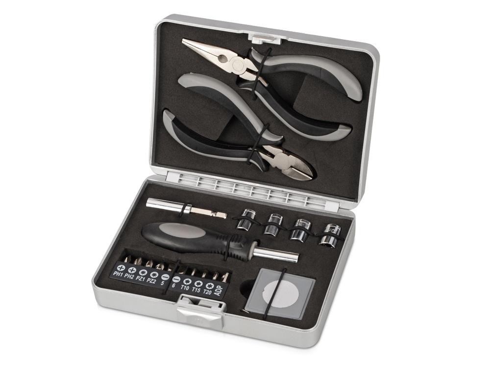 Набор инструментов OASIS Набор инструментов «Мастер», 496520, серебристый