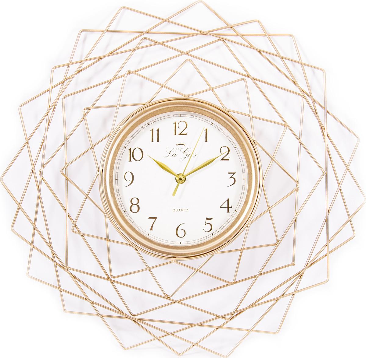 Часы настенные La Geer, разноцветный, 46 х 5 х 46 см все цены
