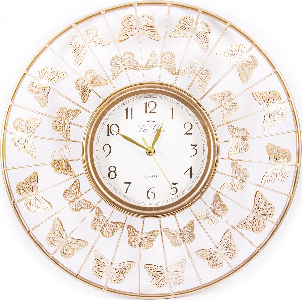 Часы настенные La Geer, 60802, разноцветный, 46 х 5 х 46 см все цены