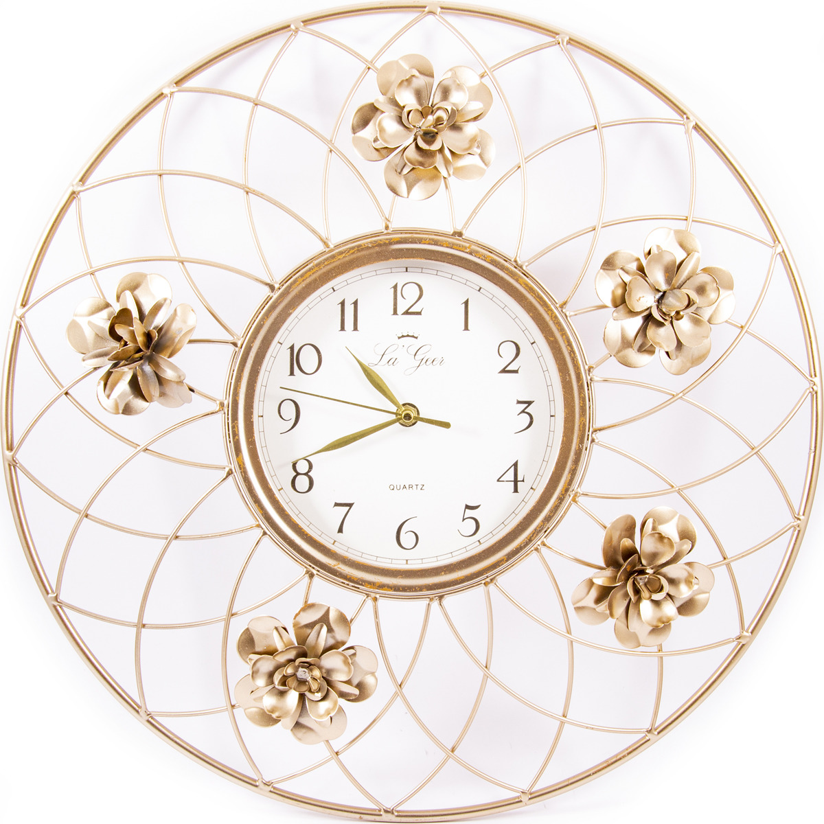 Часы настенные La Geer, 60803, разноцветный, 46 х 5 х 46 см все цены