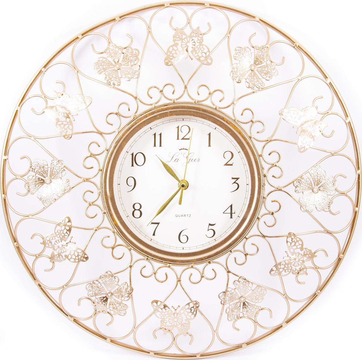 Часы настенные La Geer, 60804, разноцветный, 46 х 5 х 46 см все цены