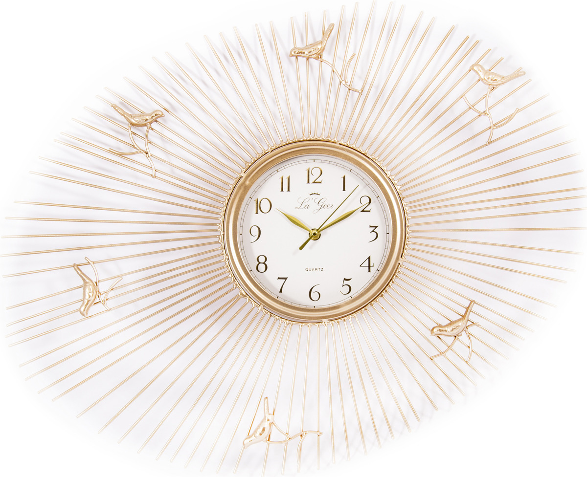 Часы настенные La Geer, 60806, разноцветный, 68 х 51 см все цены