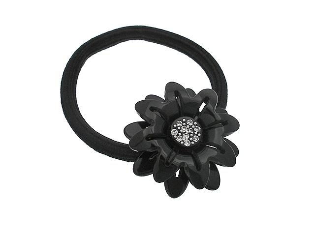 Резинка для волос женская Magie Accessoires 776881, черный776881Резинка для волос на голову.