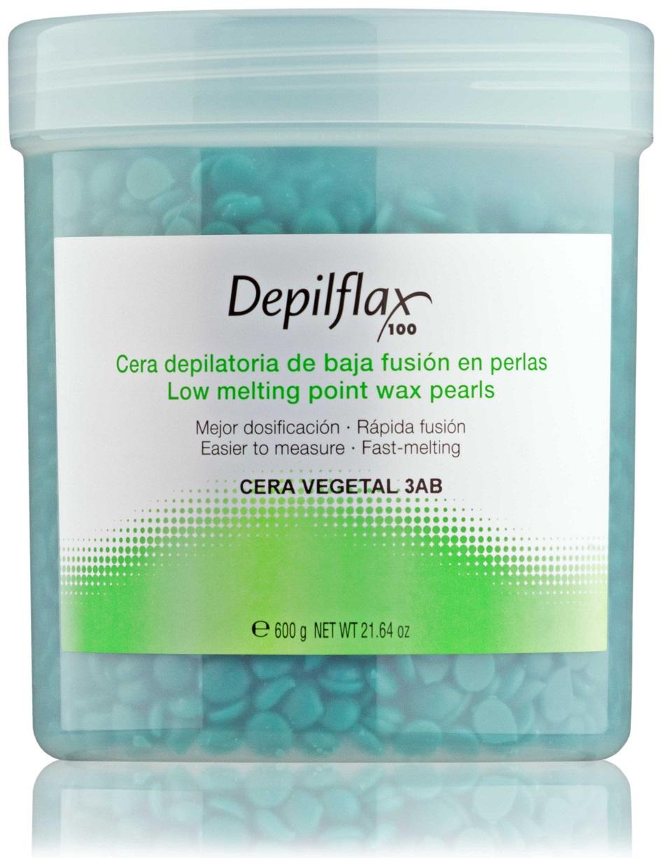 Воск для депиляции DEPILFLAX100 зеленый/cera vegetal 600 г trendy воск для депиляции микромика в картридже 100 мл