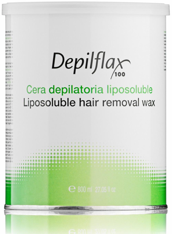 Воск для депиляции DEPILFLAX100 натуральный/cera natural 800 мл