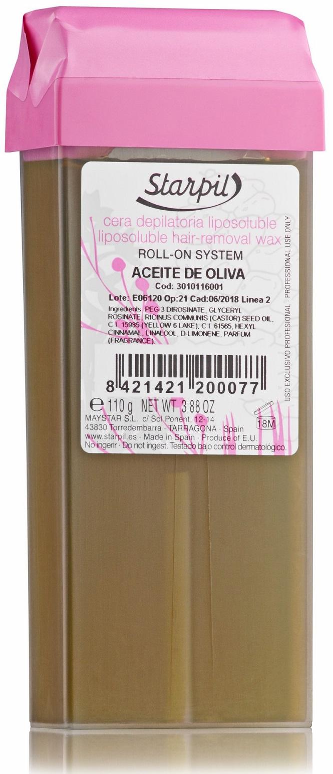 Воск для депиляции STARPIL Aceite de oliva, 110 г воск для депиляции norma de durville