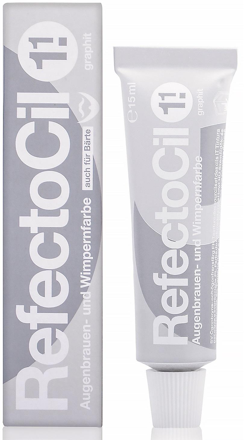Крем-краситель для окрашивания бровей и ресниц REFECTOCIL № 1.1 графит 15 мл