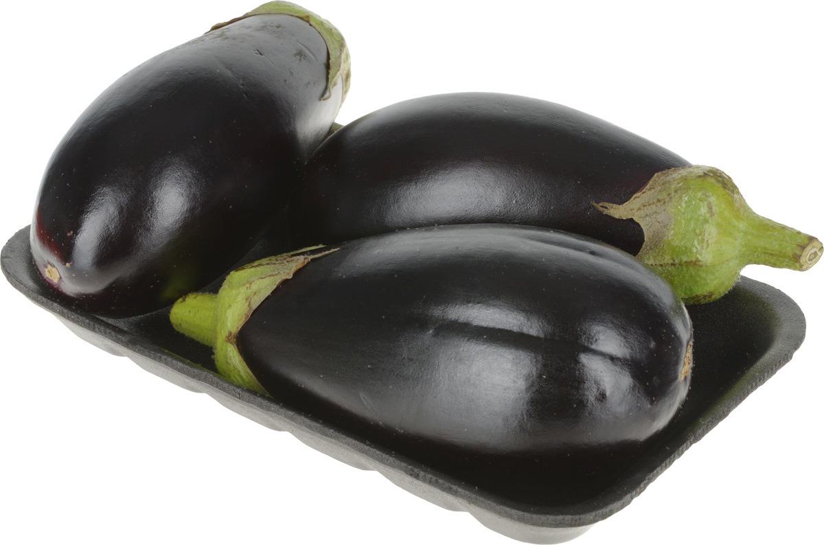 Баклажаны, упаковка Блестящие баклажаны традиционной...