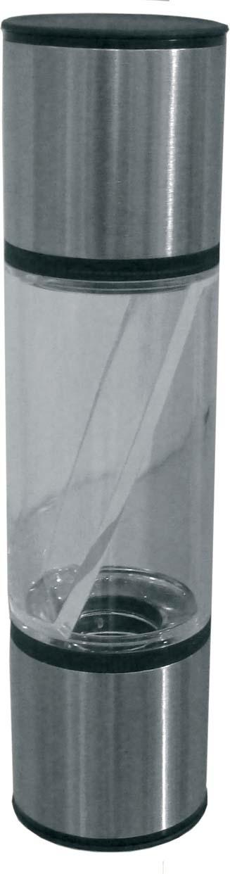Набор для специй Maestro 2 в 1, MR-1623, прозрачный, серебристый наборы для специй blue sky набор соль перец
