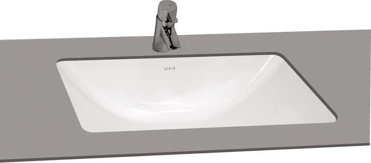 Раковина Vitra S50, встраиваемая снизу, 5339B003-0012, белый