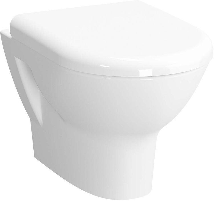 Унитаз подвесной безободковый Vitra Zentrum, 5795B003-0075, белый инсталляция для подвесного унитаза viega eco wc 713386 596323 460440